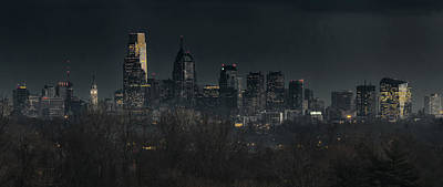 Philadelphia Night Original by Richard Greenwood