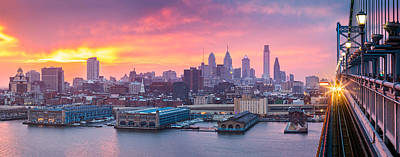 Photograph - Philadelphia Panorama by Mihai Andritoiu