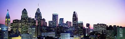 Philadelphia, Pennsylvania, Usa Art Print by Panoramic Images
