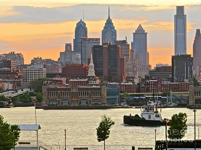Photograph - Philadelphia Riverfront  by Nancy Patterson