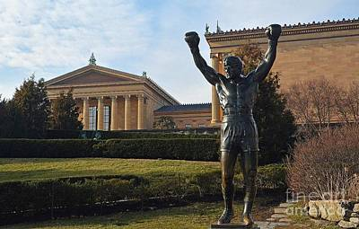 Philadelphia - Rocky  Art Print by Cindy Manero