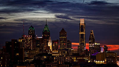 Philadelphia Photograph - Philadelphia Skyline by Carlos Rivera
