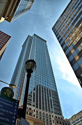 Landscape Photograph - Philadelphia Skyscrapers by Steven Richman