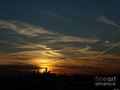 Photograph - Philadelphia Sunset by Lyric Lucas