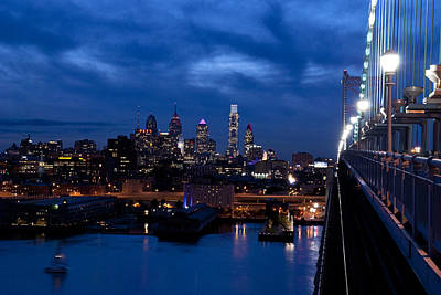 Photograph - Philadelphia Twilight by Jennifer Ancker