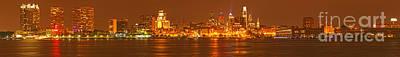 Photograph - Philadelphia Ultra Wide Panorama by Adam Jewell