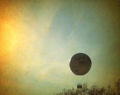 Photograph - Philadelphia Zoo Vintage Balloon Ride by Femina Photo Art By Maggie