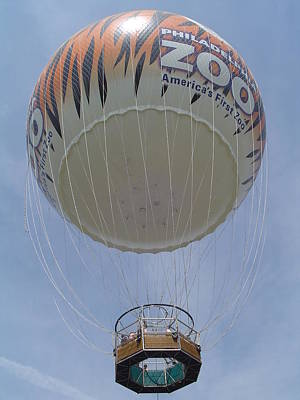 Photograph - Philadelphia Zooballoon by Vadim Levin