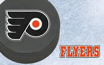 Flyers Photograph - Philadephia Flyers by Joe Hamilton