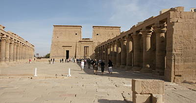 Photograph - Philae Temple by Christian Zesewitz