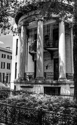 Photograph - Philbrick - Eastman House In Black And White by Greg and Chrystal Mimbs