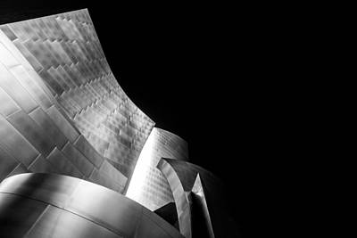 Walt Disney Concert Hall Photograph - Philharmonic by Daniel Chen