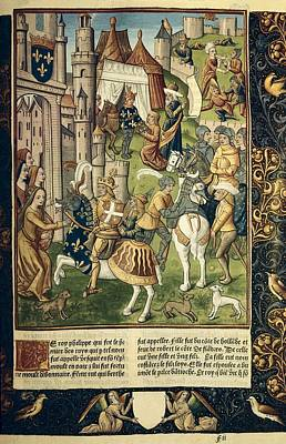 Philip I Of France 1052-1108. King Art Print