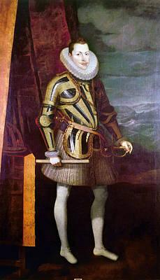 Breastplate Painting - Philip IIi Of Spain (1578-1621) by Granger