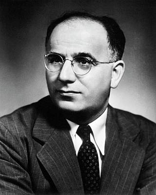 Philip Photograph - Philip Levine by National Library Of Medicine