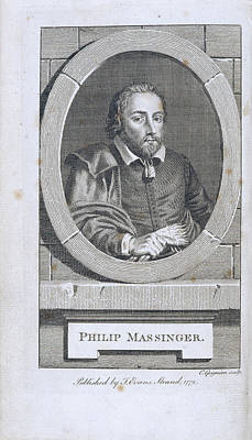 Revising Photograph - Philip Massinger by British Library