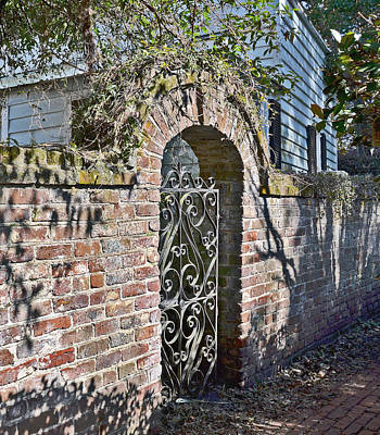 Photograph - Philip Simmons Gate by Linda Brown