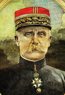 Verdun Photograph - Philippe Petain by Collection Abecasis