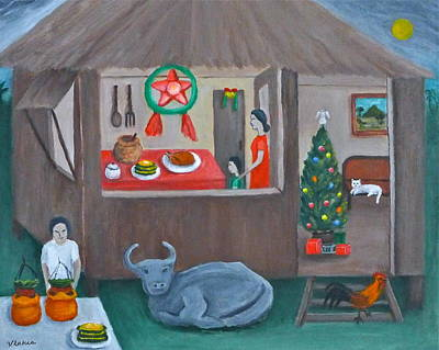 Painting - Philippine Christmas 3 by Victoria Lakes