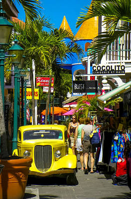 Sint Maarten Photograph - Philipsburg by Karen Wiles