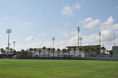 Baseball Photograph - Phillies Brighthouse Stadium Clearwater Florida by Bill Cannon
