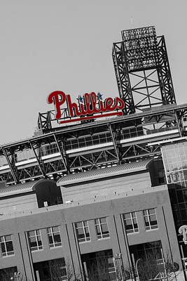 Philadelphia Photograph - Phillies by Michael Porchik