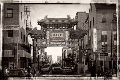 Philly Chinatown Art Print by Carlos Rivera