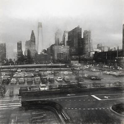 Photograph - Philly From 30th Street Cira by Alice Gipson