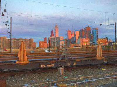 Photograph - Philly From Thirtieth by Alice Gipson