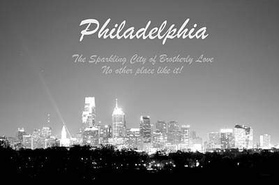 Photograph - Philly Glow by Deborah  Crew-Johnson