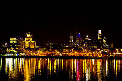 Philly Nights Art Print by Bill Cannon