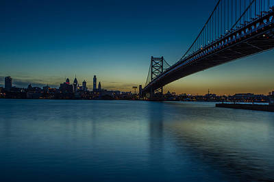 Philly Sunset Art Print by David Hahn