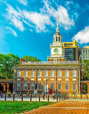 Photograph - Philly's Independence Hall by Nick Zelinsky