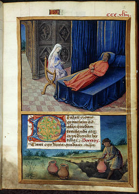 Philosophy And Boethius Art Print by British Library