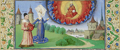 Boethius Painting - Philosophy Instructing Boethius On The Role Of God Coëtivy by Litz Collection