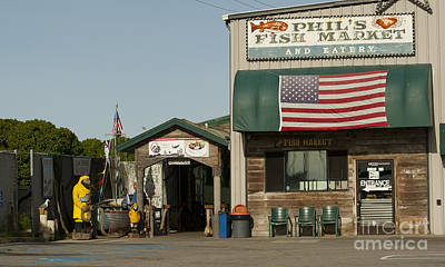 Phils Fish Market Moss Landing Art Print by Artist and Photographer Laura Wrede