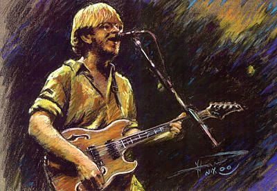 Roll Wall Art - Pastel - Phish by Ylli Haruni