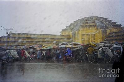 Photograph - Phnom Penh Central Market by Hans Janssen