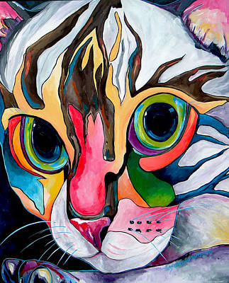 Unconditional Love Painting - Phoebe Blu by Patti Schermerhorn