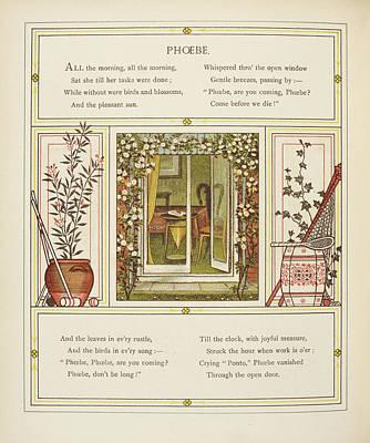 Phoebe Art Print by British Library