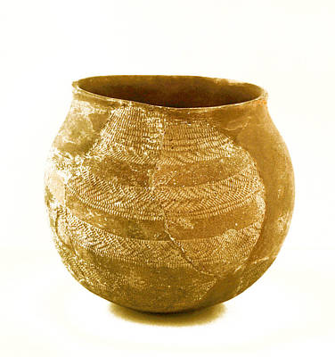 Ceramics Photograph - Phoenician Bowl by Gina Dsgn