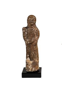 Ceramics Photograph - Phoenician Terracotta Goddess by Science Photo Library