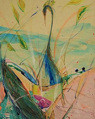 Painting - Phoenix 5  by Chris Cloud