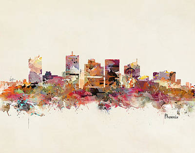 Painting - Phoenix Arizona by Bri B