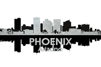 Phoenix Mixed Media - Phoenix Az 4 by Angelina Vick
