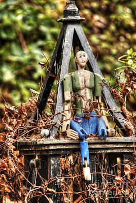 Photograph - Phoenix Garden Marionette 2 by Deborah Smolinske