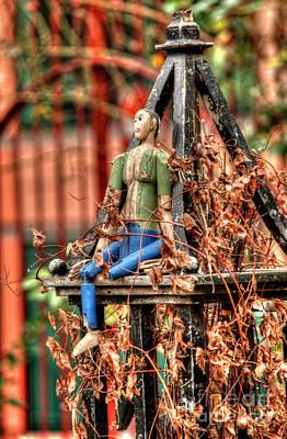 Photograph - Phoenix Garden Marionette by Deborah Smolinske