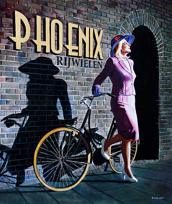 Painting - Phoenix by Jo King