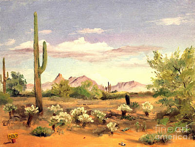 Painting - Phoenix Land 1970 by Art By Tolpo Collection