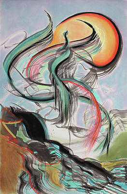 Painting - Phoenix Rising by Asha Carolyn Young